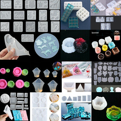 Maze Key Chain Crystal Resin Mold UV Epoxy Silicone Mould Jewelry Making Tools