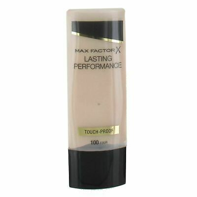 Max Factor Lasting Performance Foundation touch proof 35ml fair free P&P