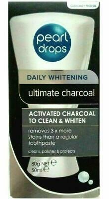 PEARL DROPS DAILY WHITENING ULTIMATE ACTIVATED CHARCOAL TOOTHPASTE 50ml