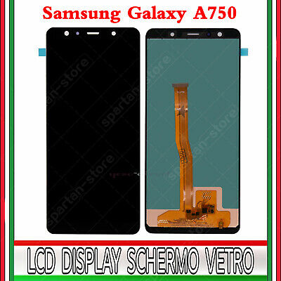Display Lcd Touch Screen Per Samsung Galaxy A7 2018 A750 Sm-A750F Originale Ner0
