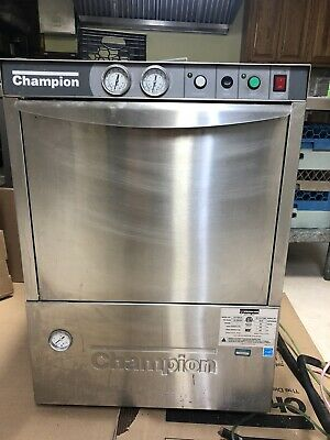 CHAMPION UH170B-70 Stainless Steel Commercial Dishwasher ***used***Reduced***
