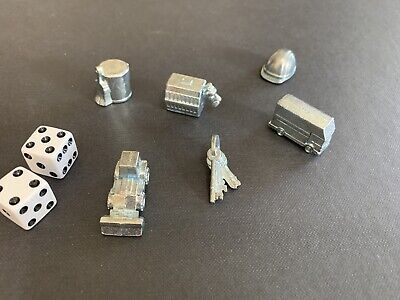 8 pawn stands Board Game Replacement Pieces Pawn Yellow white movers  PSC