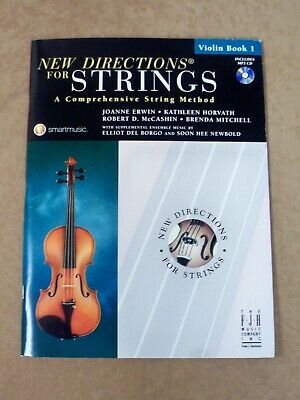 "/""NEW DIRECTIONS FOR STRINGS/"" CELLO MUSIC BOOK 2//CD-BRAND NEW SALE INSTRUCTIONAL!"