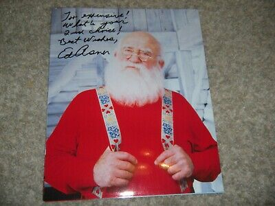 Ed Asner Signed Up Movie Elf 8x10 Photo Mary Tyler E 32 00 Picclick