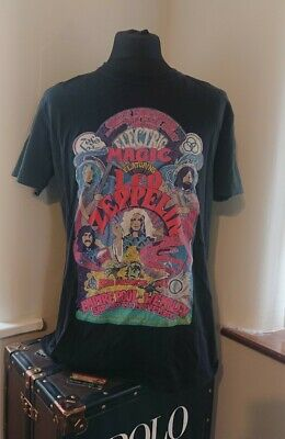 Mens Electric Magic Featuring Led Zeppelin Black Tshirt Size Xl 25 16 Picclick