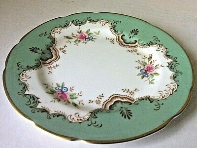 Paragon Dinner Side Plate Gold Pattern Floral Fine English Display Bone China