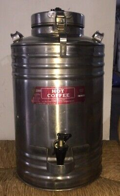 Vtg CECILWARE Commercial Industrial Insulated CC55 Coffee Dispenser Container