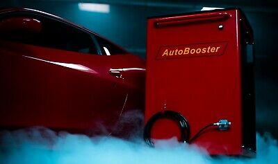 Engine Carbon cleaning machine from AutoBooster Denmark