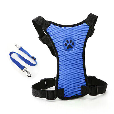 Lightweight For Pet Walking Dog With Seat Belt Chest Strap Portable Outdoor Car
