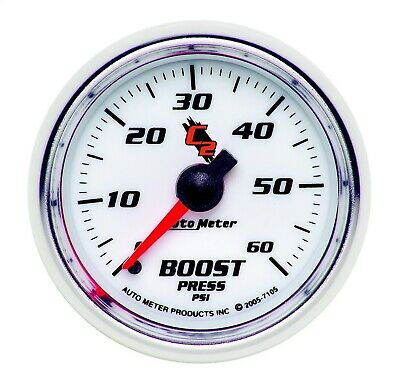 7105 Autometer 7105 C2 Mechanical Boost Gauge