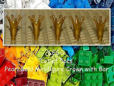 ** 25 CT LOT **  Lego NEW pearl gold 3L bar pieces  Lot of 25