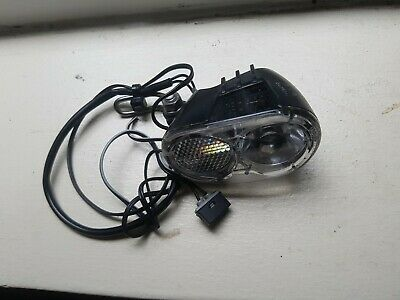 Lighting Bicycle to Dynamo Av on Fork Axa Ecoline with LED 15lux 2.4w Black