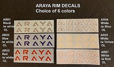 Choice 3 colors sale is for 1 Pair ODYSSEY GYRO CABLE DECALS