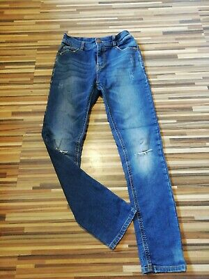 Great Boys 12 Years Next 82 Skinny Ripped Knee Jeans Adjustable Waist