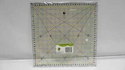 OfficeTree Schneiderlineal 30 x 30 cm - Patchwork Transparentes Universal Lineal