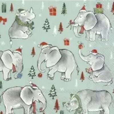 forest Toby snow -1061 4 Single paper decoupage napkins Winter Squirrel