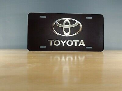 Toyota Custom License Plate - Custom Car Tag - Personalized License Plate