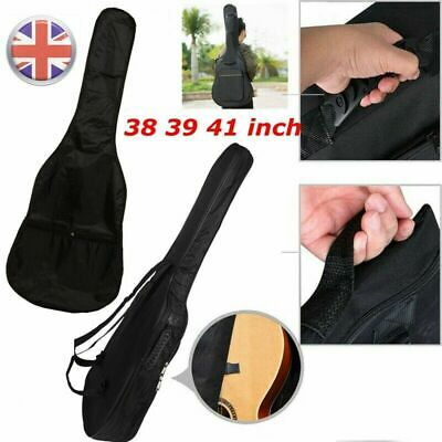 """38 39 41"""" Padded Protective Classical Acoustic Guitar Back Bag Carry Case Holde"""