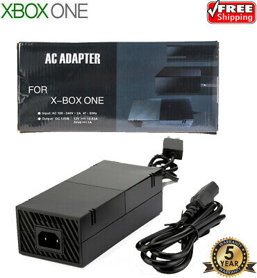 New XBOX ONE Power Supply For Microsoft Console  AC Adapter + Cable **WARRANTY**