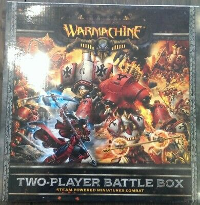 Warmachine MkII 2 player starter set. (PIP25001)