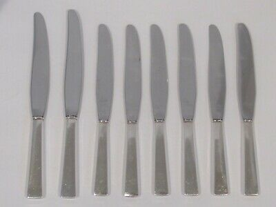 lot of 8 - International Sterling - lunch / dinner knives - Continental 1lb 6 oz