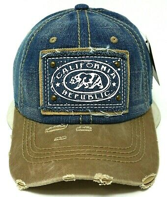 OWL Ball Cap Distressed Dad Hat High Frequency Patch 100/% Cotton Adult OSFM New