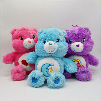"New 12"" Care Bear Love-A-Lot Bear Soft Plush Animal Toy Kids Birthday Gift"