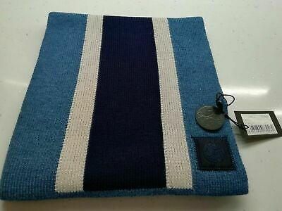 Accessories Mens Ted Baker Elver Chunky Textured Scarf in Blue