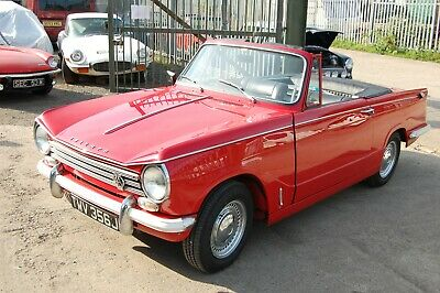 1971 Triumph Herald 13/60 Vitesse Engine & Gearbox Restored And Ready To Enjoy