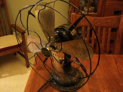 """Western Electric Model 7454 17"""" Four Brass Blades  In Excellent Running Conditio"""
