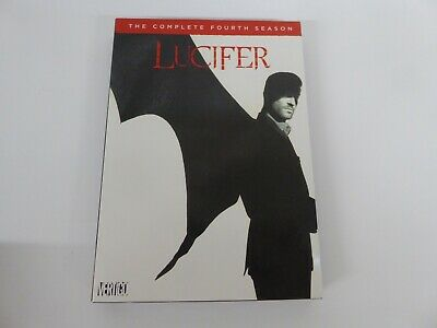Lucifer Season 4 - Dvd Cardboard Slipcover Only - No Discs