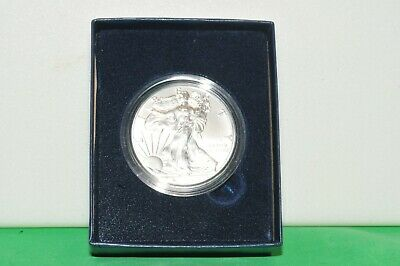 2016 W Silver American Eagle Brilliant Uncirculated In Box With COA