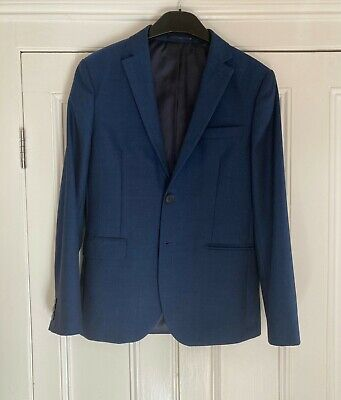 Boys Next Suit Age 13 years 158cm Blue Excellent Condition Worn Once
