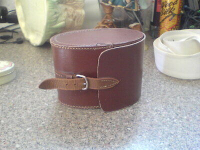 Strong Leather Oval Box
