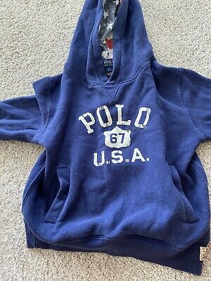 Boys Ralph Lauren Hoodie   Excellent Condition Age 6