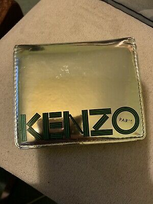 Kenzo silver card holder card wallet RRP £80