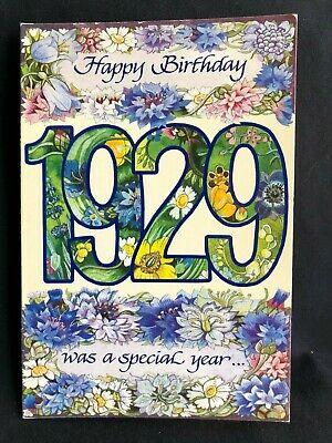 CHOOSE PICTURA GRAPHICS HISTORY GRAM GREETING CARD WITH SPECIFIC YEAR OF BIRTH