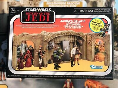 Star Wars Vintage Collection Jabba's Palace Adventure Set Walmart Excluive New