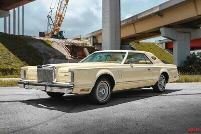 1978 Lincoln Mark Series  Turn-Key / 460CI V8 / Factory Cold A/C / Low Miles / Power Optioned Everything