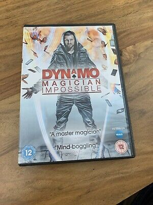 Dynamo - Magician Impossible: Series 1 DVD (2011) Ian Brown Great Condition