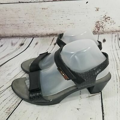 Naot INTACT Shoes Open Toe Sandals Ankle Strap Heels US SIZE 9