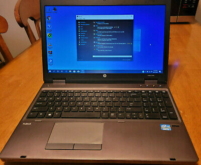 HP ProBook 6570b w/ 512GB HDD and 8GB RAM Win10 Pro Activated