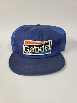 Vintage Gabriel Patch Snap Back Trucker Hat, Made in U.S.A.