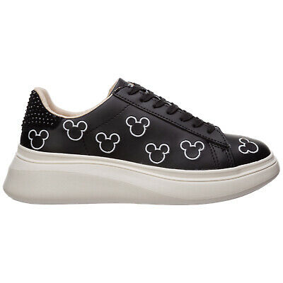 Sneakers Donna Moa MD131 Satin Black Disney Edition 38