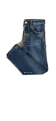 Boys Authentic Dsquared Jeans Worn Twice Age 8 Yrs