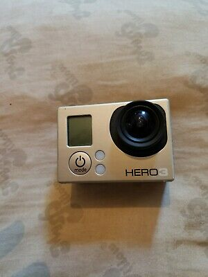 GoPro HERO3 White Edition with touch screen and waterproof casing