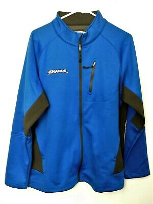 Menards Mens SZ XLT Blue gray FLEECE lined JACKET NEW