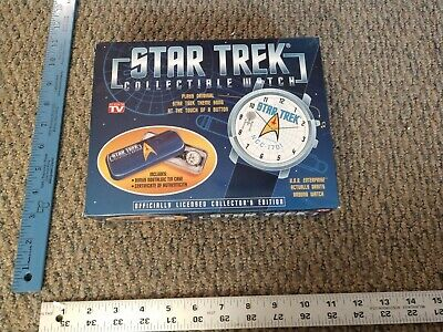 VINTAGE Star Trek  COLLECTORS WATCH Set