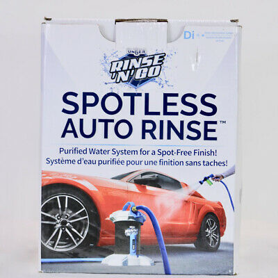 Unger Professional Rinse 'n' Go Spotless Water Deionized Car Wash System