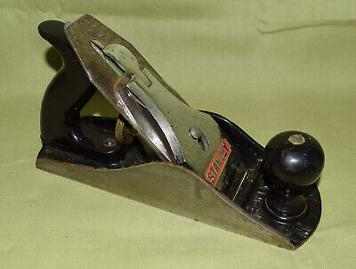made in England Woodworking tool Vintage Hand Planer GTL